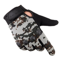 2017 New Arrival Men Warm Cashmere Gloves Male Winter Camouflage Driving Airsoft Gloves Tactical Guantes Invierno Hombre Moto
