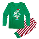 Christmas Family Men Matching Pajamas Sleepwear Nightwear Two-pieces Outfits