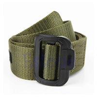 New Unisex Boy Adjustable Nylon Military Belt Tactical Rappelling Men Waistband High Quality 3 Colors