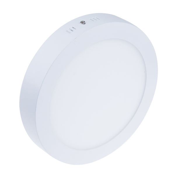 21W Surface Mounted Round Shape LED Panel Light Warm White Lamp Downlight AC 85-265V
