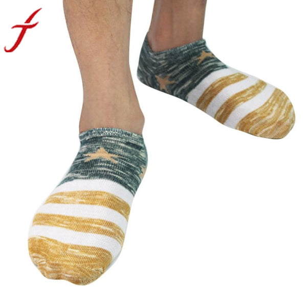 1 Pair Winter Warm Men's Cotton Socks Crew Ankle Low Cut Casual Business Classic Cotton Socks Free Size