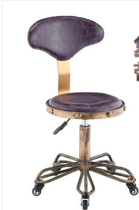Beauty salon large chair. Hairdressing nail master wheelchair. Barber shop lift stool.