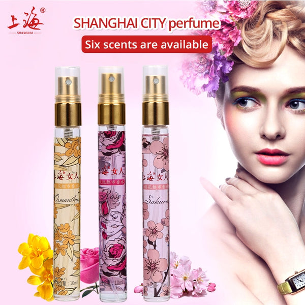 Shanghai 10ml Mini Portable Travel Atomizer Perfume Perfumes And Fragrances For Women Parfum Fragrances deodorant airless pump