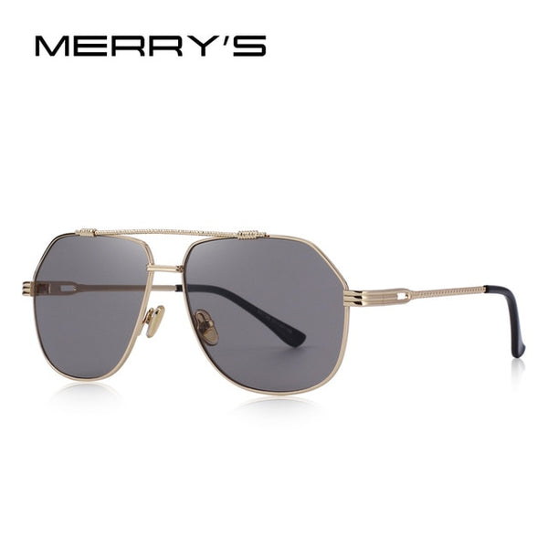 MERRY'S DESIGN Men/Women Classic Square Sunglasses 100% UV Protection S'6201