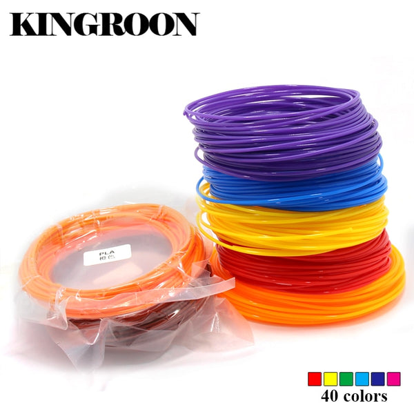 10 Meter PLA 1.75mm Filament Printing Materials Plastic For 3D Printer Extruder Pen Accessories Black White Red Colorful Rainbow