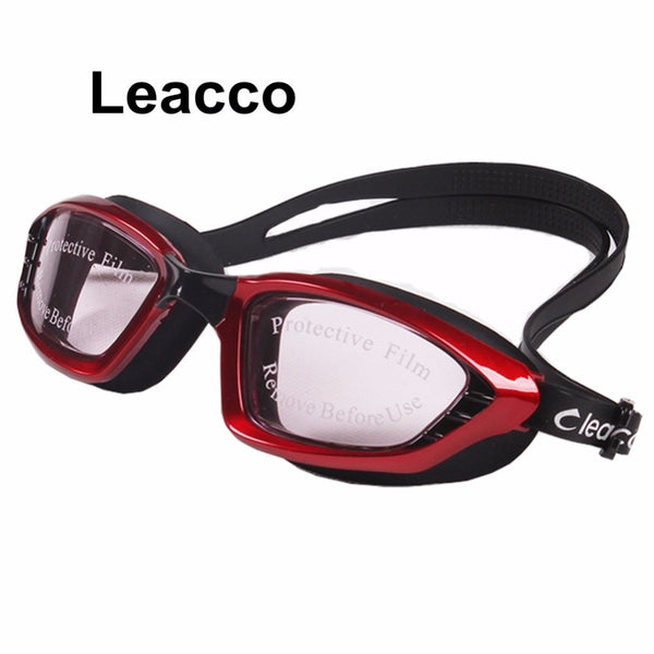 2017 Brand New 5 Colors Men Women Professional Electroplate Waterproof Swim Glasses Anti Fog UV Protection Swimming Goggles