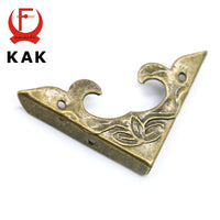 10PCS 30mm x 30mm Book Scrapbooking Albums Corner Bracket Antique Brass Decorative Protectors Crafts For Furniture Hardware