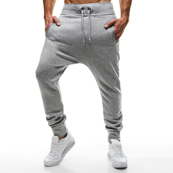 Harem Pants Men Baggy Joggers Pants Casual Sportswear Long Trousers Fashion Solid Sweatpants Tracksuit Bottoms Autumn Spring New