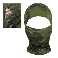 Camouflage Hood Ninja Outdoor Cycling Motorcycle Hunting Military Tactical Helmet Liner Gear Full Face Mask