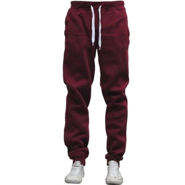 2018 Velvet Sweatpants Men Warm Thick Fleece Lined Sweat Pants Male Tracksuit Bottoms Winter Warm Long Track Pants Plus Size 3XL