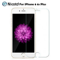 Tempered Glass for iPhone 6 6S Screen Protector for iPhone 7 Plus Glass Film for iPhone 8 plus X SE 5 5S Tough Protection 4 4S