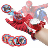 Cosplay Marvel Avengers Super Heroes Gloves Laucher Spiderman Batman Ironman One Size Glove Gants Props Christmas Gift for Kid