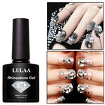DIY Art Nail Polish Glue Rhinestone Adhesives Super Sticky Tools UV Gel