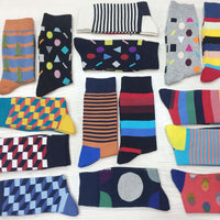 PEONFLY men socks Large edition creative socks version Pure Fashion Joker Man Cotton happy funny Socks colorful men