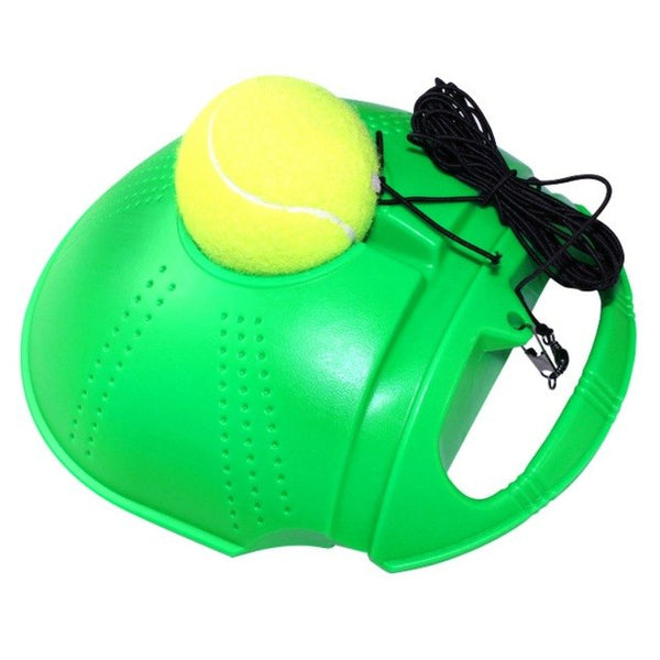 Single Tennis Trainer Tennis Training Tool Exercise Tennis Practice Trainer Baseboard Sparring Device