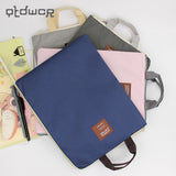 1PC New A4 Oxford Cloth File Folder Bag Office Supplies Organizer Bag Document Organizer