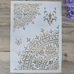 DIY Craft Mandala Stencils For Walls Painting Scrapbooking Stamping Stamp Album Decorative Embossing Paper Card Flower Template