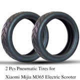 2 Pcs Inner Tubes Pneumatic Tires Inflation Tube for Xiaomi Mijia M365 Electric Scooter 8 1/2x2 Upgraded Thick Wheel Vacuum Tyre