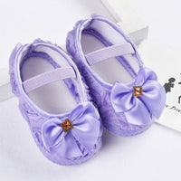 Baby Girl Shoes First Walkers Toddler Pre-walker Shoes Rose Flowers Bow Princess Newborn Baby Soft Sole Shoes