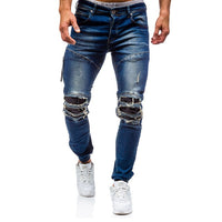 3 Colors Cotton Men Fashion Jeans Denim Long Pants Men Jeans Autumn & Winter 2018 Fashion Casual Cotton Jeans Men D98