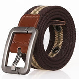 HEE GRAND 2018  Casual Fabric Knitted Belt  Cargo Belts for Men  Ceintures Homme 115 cm PYP081