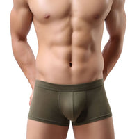 HEE GRAND 2018 Men Solid Breathable Underwear Panties High Quality Male Boxers Men Fashion Boxer NNP227