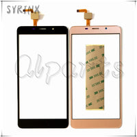 Syrinx + Tape Touchscreen For Leagoo M8 Touch Screen Screen Digitizer Front Glass For Leagoo M8 Mobile Phone Touch Panel Glass