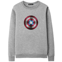 Captain America Hoodies Men Hooded Sweatshirts Superhero 3D Print Quality Pullover Plus 4XL Casual Fashion Tracksuit Streetwear
