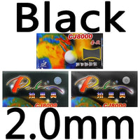 Palio CJ8000 (2-Side Loop Type) pips-in table tennis / pingpong rubber with sponge (H36-38)