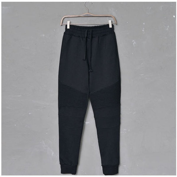 2018 Autumn Spring Mens Fitness Sweatpants Men Bodybuilding Track Pants Casual Hip Hop Harem Pants Skinny Long Tracksuit Trouser