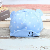 Baby New Girl Boys Cute Dot Cap Summer Infant Sun Hat With Ear Sunscreen Baby Girl Hat Spring Baby Accessories