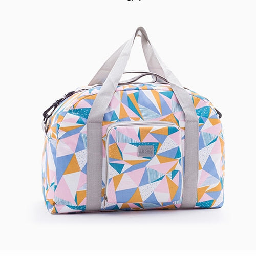 IUX New Folding Travel Bag Travel Bags Large Capacity Bag Large Capacity Unisex Luggage Packing Travel Handbags Travel Handbags