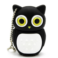 STmagic cute Cartoon animal owl pendrive 4GB 8GB 16GB 32GB  Stick USB Flash Drive