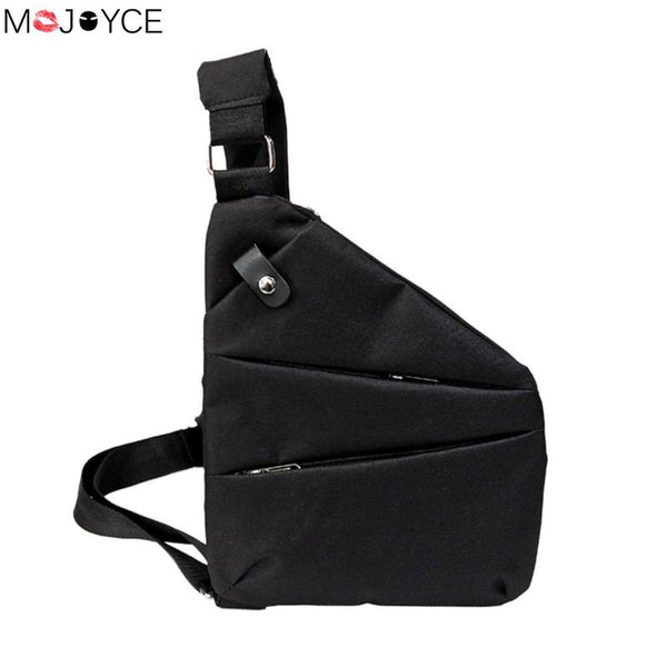 Anti-Theft Men's Messenger Bag Shoulder bolsa Men Chest Pack Men Casual Crossbody Bag Canvas Cool Motorcycle Sling Bag masculina