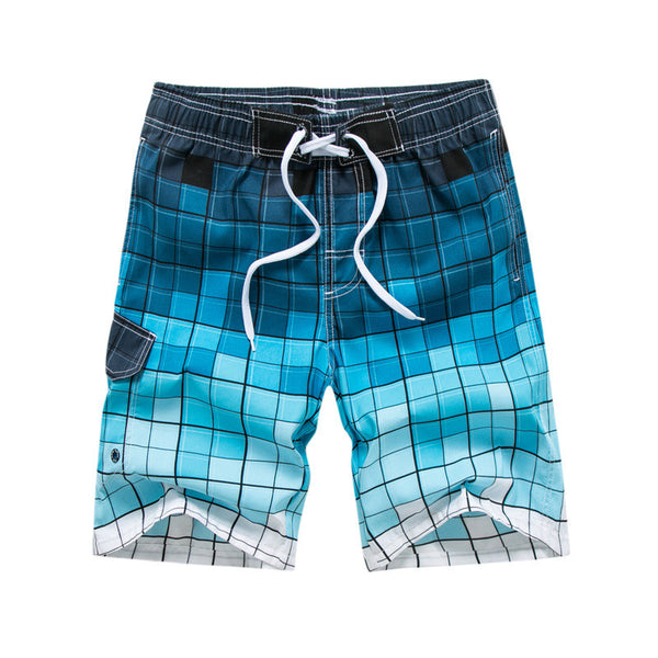 New Quick Dry Summer Mens Printed Beach Board Shorts Bermudas For Men Casual Gyms Hawaii Shorts Mens Plus Size