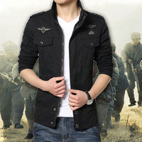 2018 Fashion Slim Fit Man Cotton Jacket Plus Size High Quality military Jackets Cotton Coats Top Design Winter Jackets For Men