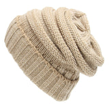 HEE GRAND 2018 Winter Knitted Beanies Unisex Hat for M Red Christmas Hats For Women Women Cute Beanie Caps Wholesale PMT084