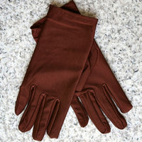 Hot Selling Lady Elegant Evening Party Formal Prom Stretch Satin Finger Sun-shading Sunscreen Oversleeps Slip-resistant Gloves