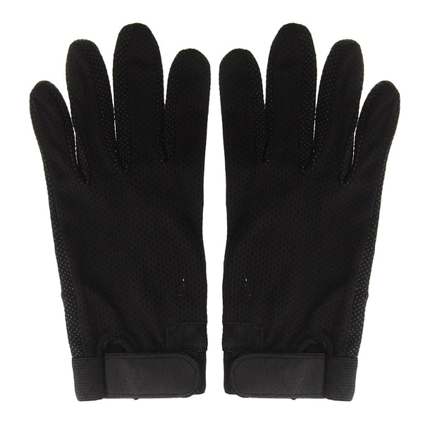 Stretchable Pimple Palm Competition Horse Riding Equestrian Grip Gloves S Lightweight Horse Rider Horse Rider Black