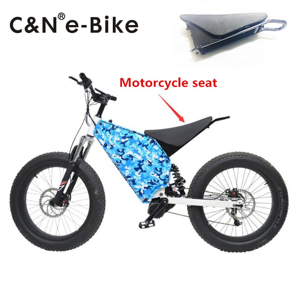 2017 New design Comfortable Motorcycle Seat for 19inch motorcycle wheel Enduro Electric Bike electric mountain bike