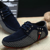 2018 New arrival Men Shoes Mens Spring Autumn Casual Breathable Flats Male Fashion Lightweight Suede Shoes Casual Shoes
