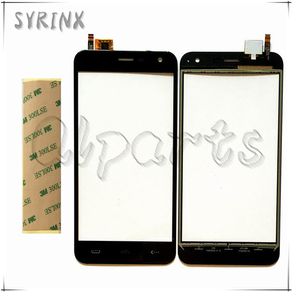 Syrinx Free 3M Tape Touch Screen Digitizer For Homtom HT3 HT3 PRO Touch Panel Front Glass Sensor Touchscreen Replacement