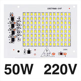 [MingBen] LED Lamps SMD2835 Chip Beads Smart IC 220V Input 10W 20W 30W 50W 100W DIY For Outdoor Floodlight Cold White Warm White