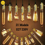 MACLOU Vintage Edison Bulb E27 220V Retro Lamp 40WAmpoule Vintage Light Bulb Edison Lamp Incandescent Light Filament Edison Bulb