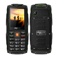 VKworld New Stone V3 Mobile Phone Waterproof IP68 2.4 inch FM Radio 3 SIM Card Led Flashlight GSM Russian Keyboard Cell phones