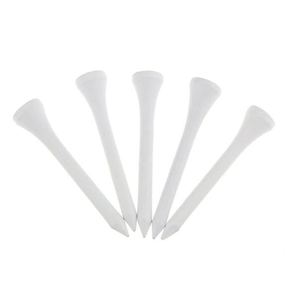 CRESTGOLF 100pcs/pack Size 54mm Wooden Golf Tees Golf Wood Tees