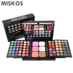 MISKOS Makeup Set Box Professional 78 Color Make Up Sets Eyeshadow Lip Gloss Foundation powder Makeup Kit de Maquiagem Cosmetics