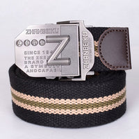 2018 Hot sale thicken belts for men 140cm canvas belt Che Guevara military belt Army tactical belt men strap cintos free shippng