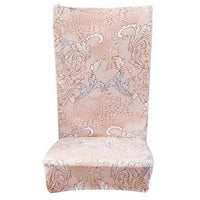 Chair Covers Spandex Stretch Polyester Chair Protective Slipcover Case Anti-dirty Elastic Dining Chair Covers Home Decoration