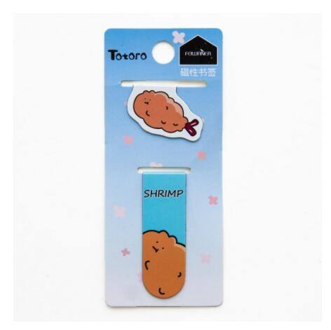 2 pcs/pack Soda Fruit Freedom Cat Milk Magnet Bookmark Paper Clip School Office Supply Escolar Papelaria Gift Stationery